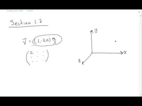 Section 1.2 - Classical Mechanics by Marion and Thornton
