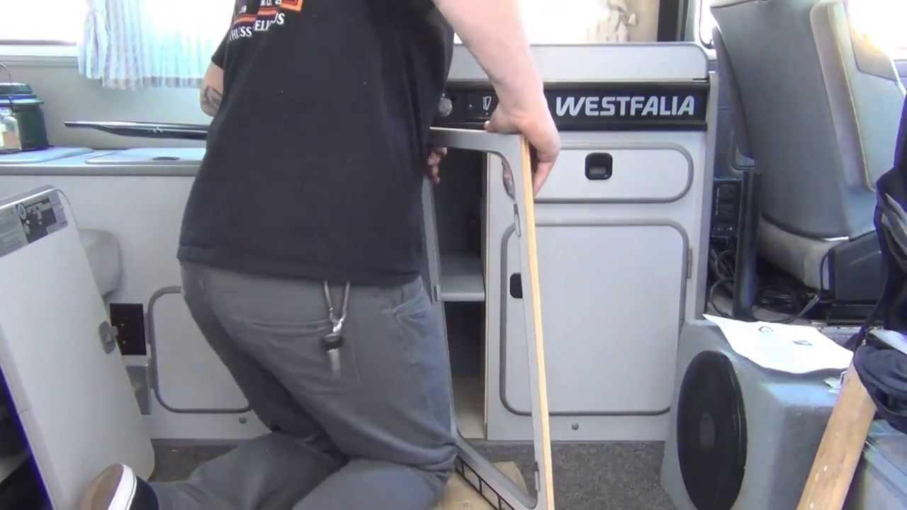 Gowesty Installing The Fridge Elimination Kit Vanagon Westfalia Wiring Instructions Youtube