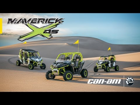 The All-New 121-HP Can-Am Maverick X Ds