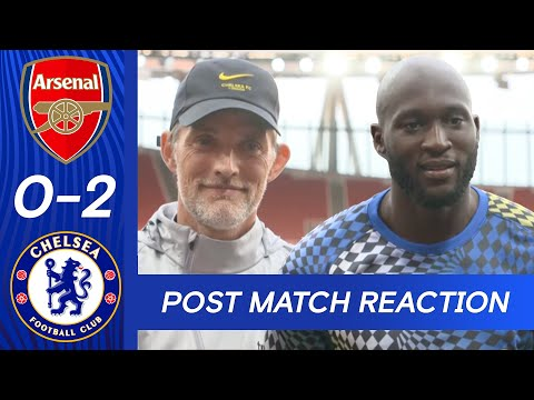 """I've Dreamt Of This For Many Years | Romelu Lukaku & Thomas Tuchel Post Match | Arsenal 0-2 Chelsea"