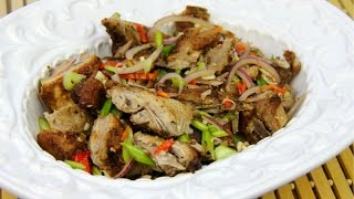 Pork Chow Recipe (trinidad And Tobago Cooking).
