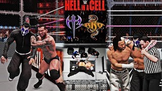 Jeff Hardy vs Randy Orton Hell in a Cell Match (WWE Hell in a Cell 2018) - Custom Scenario WWE 2K18