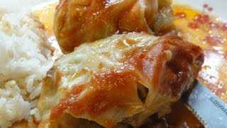 Stuffed Cabbage Rolls In A Crockpot Slow Cooker