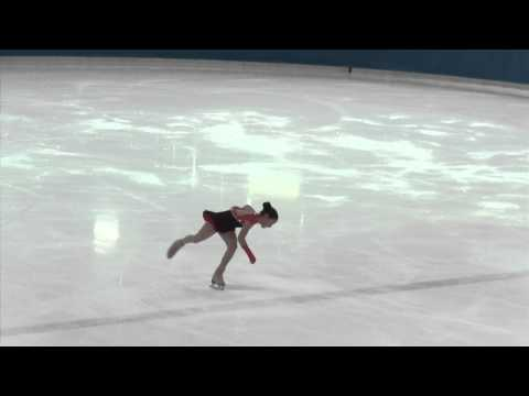 Yoonmi Lehmann Swiss Nationals 2014   Free Skating