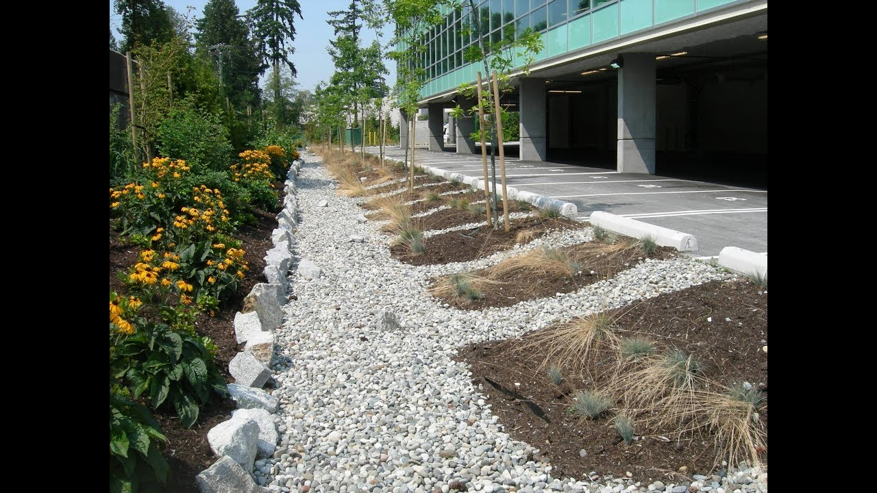 Maine's stormwater management law provides stormwater standards for projects located in organized areas that include one acre of more of disturbed area. Innovative Stormwater Management At The Property Scale Youtube