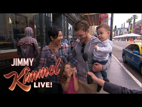 "Thumbnail: Kimmel Asks Kids ""Who Do You Love More... Mom or Dad?"""