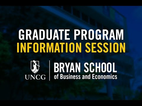 Master's in Applied Economics – Information Session (Recorded)