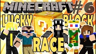 "Minecraft: Lucky Block Race - Episode 6: ""Mining fatøhh"""