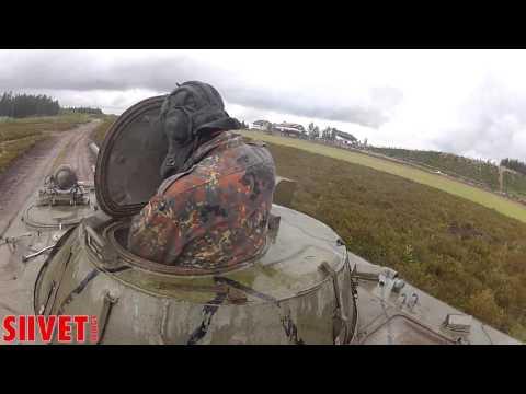 Jämi Fly In 2015 - BMP-1 AFV ride / ground battle