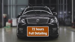 72 hours Full Detailing with Polishing & Glass coating