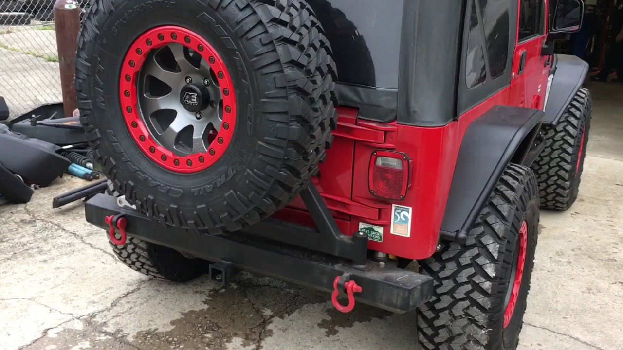 to fender flat tubular rrc accessories hover steel zoom wrangler rugged kit ridge jeep