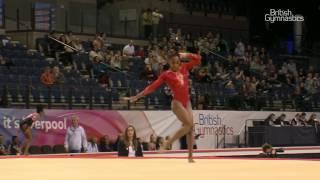 Taeja James - Floor - 2017 - British Gymnastics Championships - Womens Junior All Around