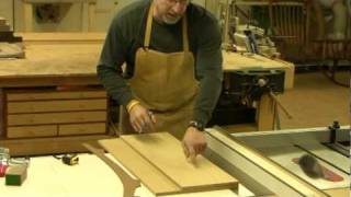 Maloof Inspired Bar Stool Rear Leg Jig