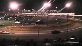 2nd half 50 lap u car caraway speedway november 2011