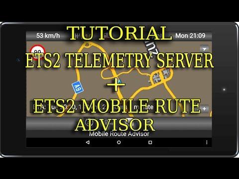ETS2 Tutorial ets2 telemetry server y mobile route advisor para ETS2 y ATS  (CASTELLANO)