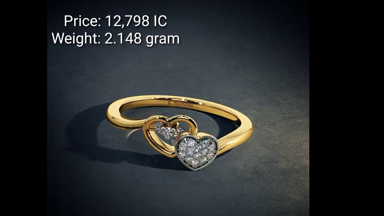 Gold Ring Designs With Weight And Price||Under 15K||From BlueStone ...