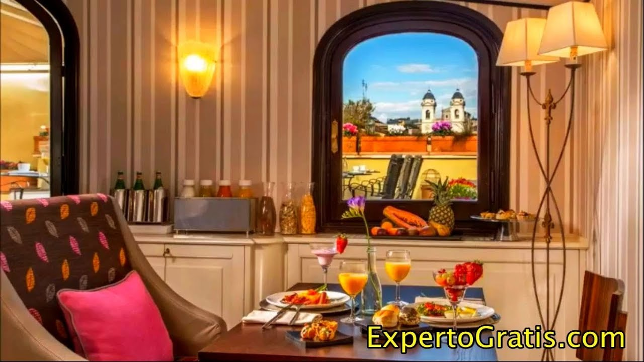 The Inn At The Spanish Steps Small Luxury Hotels Rome Italy Youtube