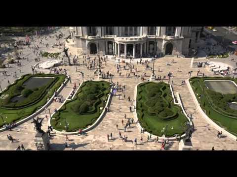 Mexico City - Palacio de Bellas Artes - Timelapse