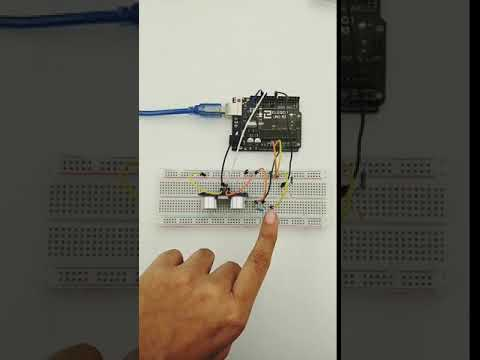 Using multiple sensors to control the state of an LED