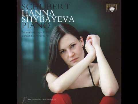 F.Schubert Piano Sonata D959 A Major, Andantino (Hanna Shybayeva)