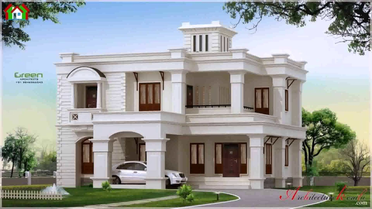Kerala style house plans within 3000 sq ft youtube for Home architecture you tube
