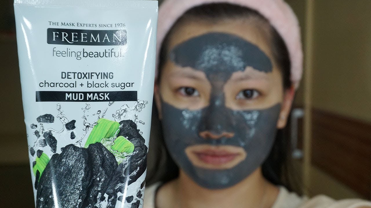 Review Freeman Detoxifying Charcoal Black Sugar Mud Mask