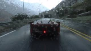 Ferrari FXX K Amazing DRIVECLUB rain graphics
