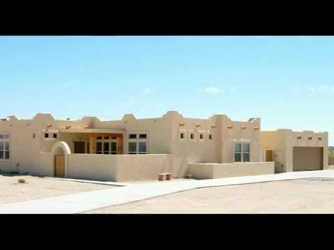 Crg santa fe homes youtube for Santa fe style homes