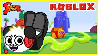 I'm Spongebob's Snail in SNAIL SIMULATOR Roblox Snail Break Let's Play with Combo Panda