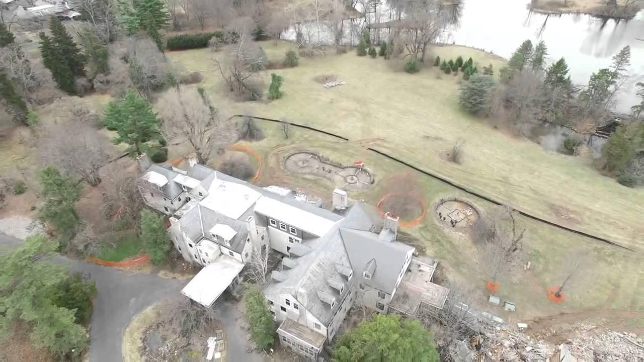 Doris duke mansion demolition youtube for 21 mansion terrace cranford nj