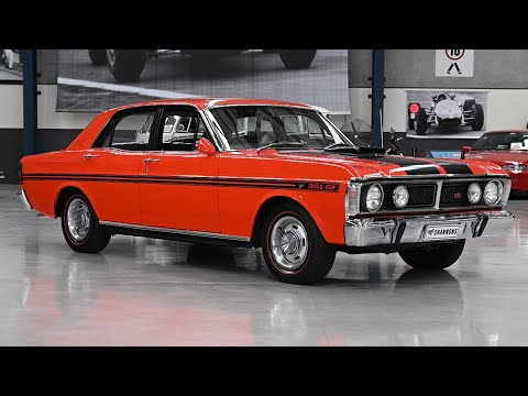 1971 Ford Falcon XY GT Sedan - 2019 Shannons Melbourne Spring Classic Auction