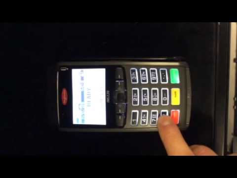 How to print a duplicate receipt on my credit card machine?