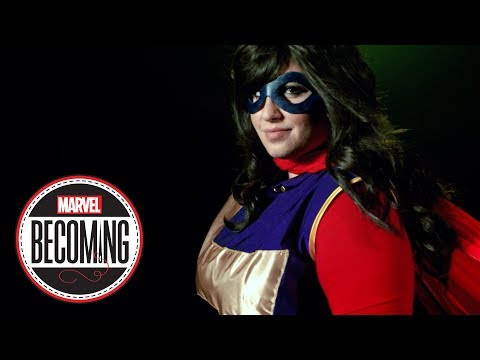 Cosplayer Jasmin Loves You Becomes Ms. Marvel - Marvel Becoming - 동영상