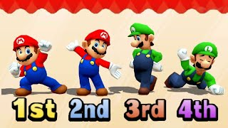 Mario Party Series MiniGames Luigi Vs Daisy Vs Mario Vs Waluigi (Master CPU)