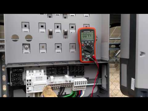 Detecting stray capacitance on a fronius backplate
