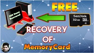 How to Recover deleted Files from SD card/memory card | Formatted sd card recovery
