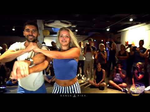 Kiko and Christina Bachata workshop by Dance Vida | Tropical Daniel Santacruz & Mario Baro