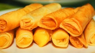 How to Cook Cheese Sticks Recipe (Cheese Roll)