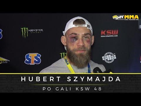 Hubert Szymajda po przegranej z Shamilem Musaevem na gali KSW 48