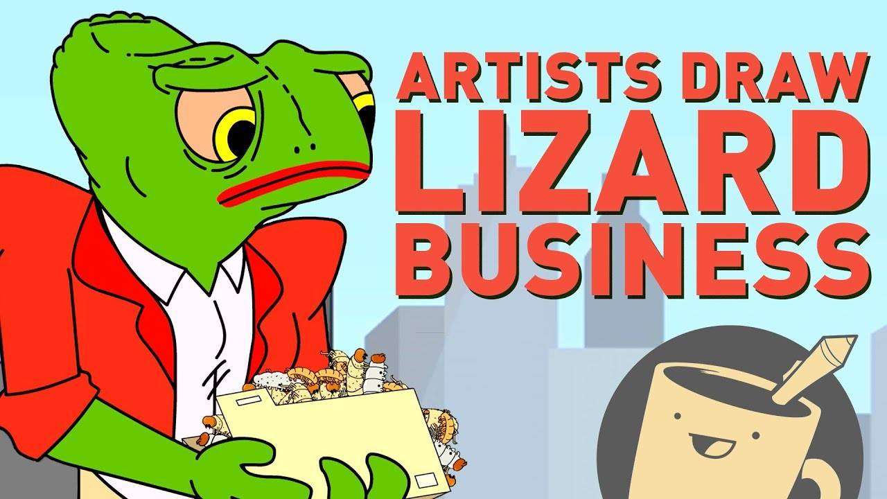 drawing-lizards-as-businesspeople