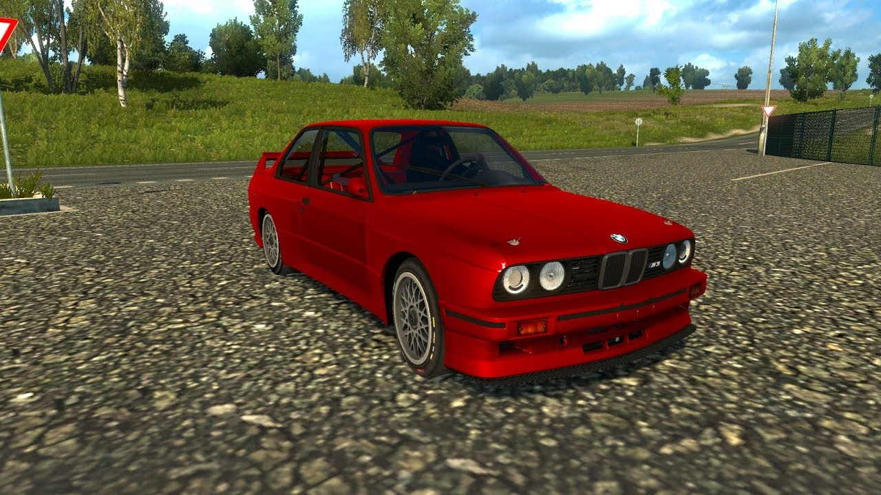 Ets 2 Mod Bmw M3 E30 Euro Truck Simulator 2 1 31 Youtube
