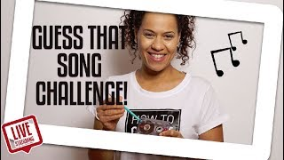 Yo Plays Guess That 90's Hit Song CHALLENGE  | Yolanda Gampp | How To Cake It