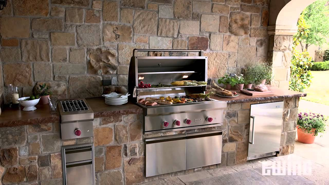Modular Outdoor Kitchen Cabinets From RTF Systems