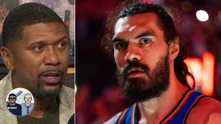 Steven Adams needs to be part of a 'Big 3' for Thunder - Jalen Rose | Jalen & Jacoby