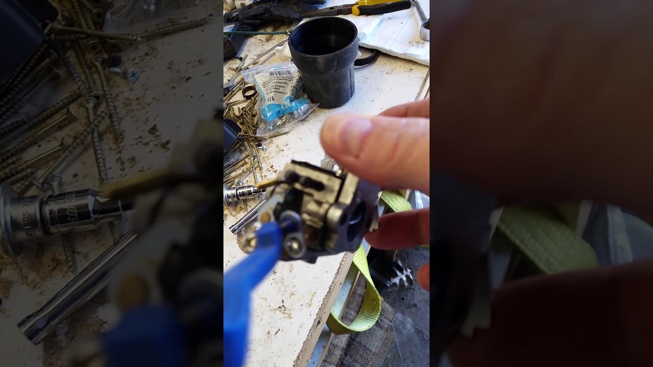 Poulan Pro P4218a Carb Adjustment