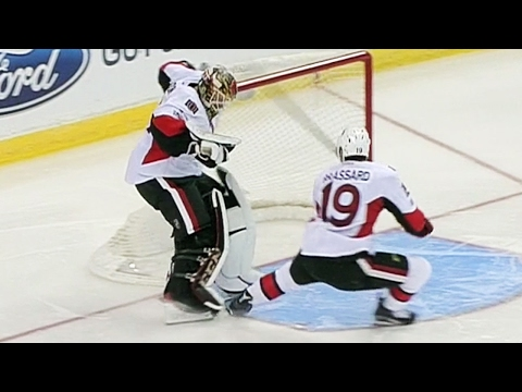 Condon And Brassard Almost Combine To Score On Own Net