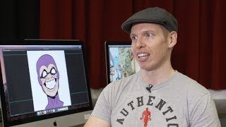Meet with cartoonist behind Kid Phantom comic