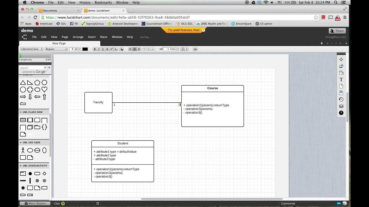 LucidChart to Draw    UML    Class    Diagram     YouTube