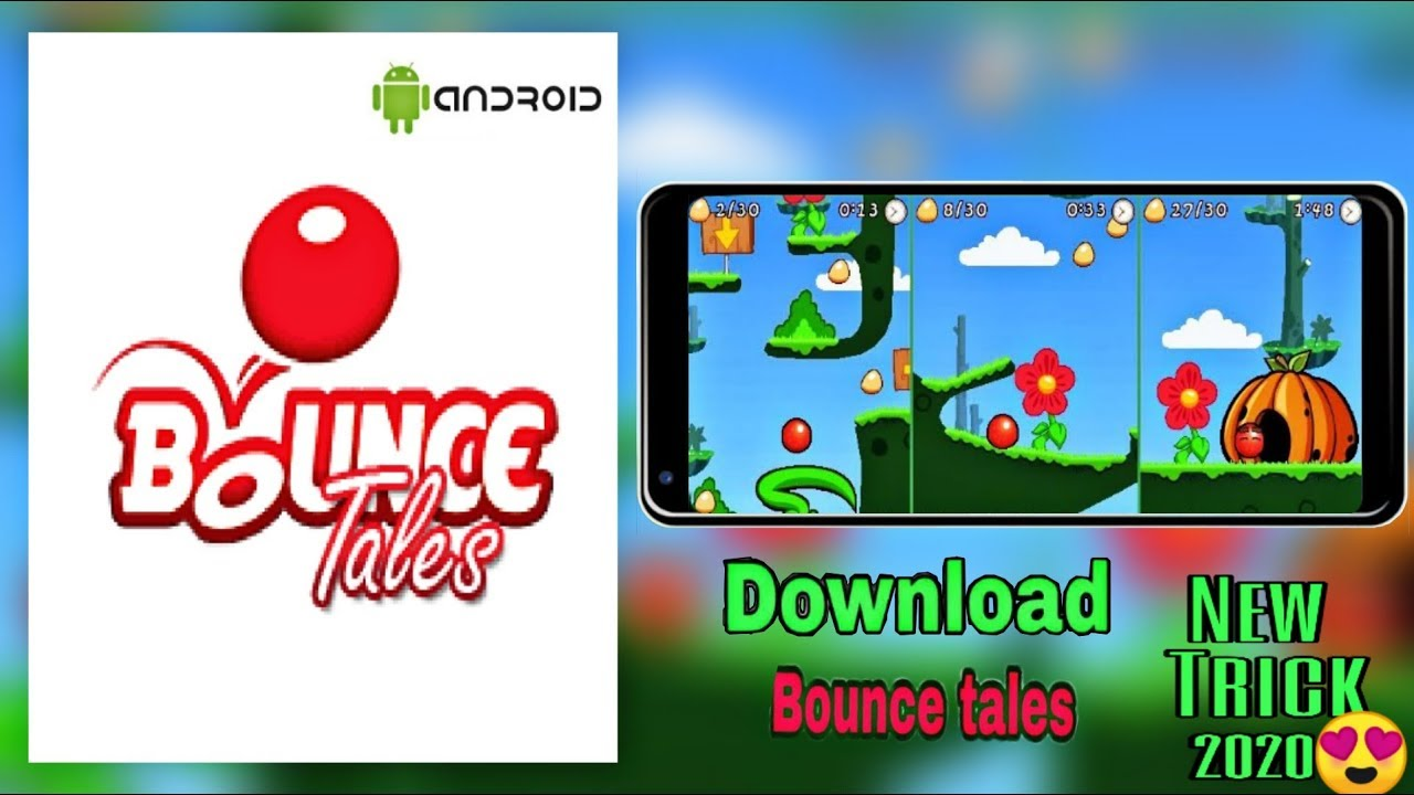 Bounce Tales Java Game In Android How To Download Bounce Tales Game In Android Device Youtube