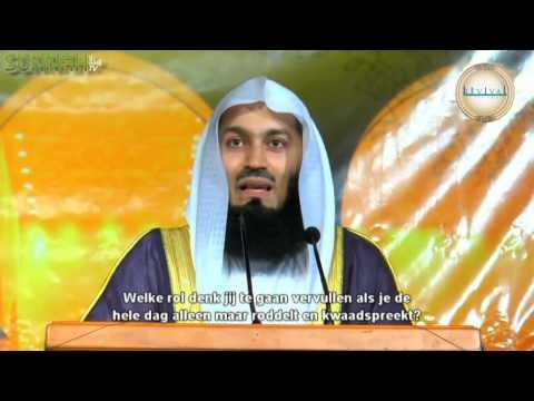 Mufti Menk-De Rol van de Moslim Jeugd (ONDERTITELD)